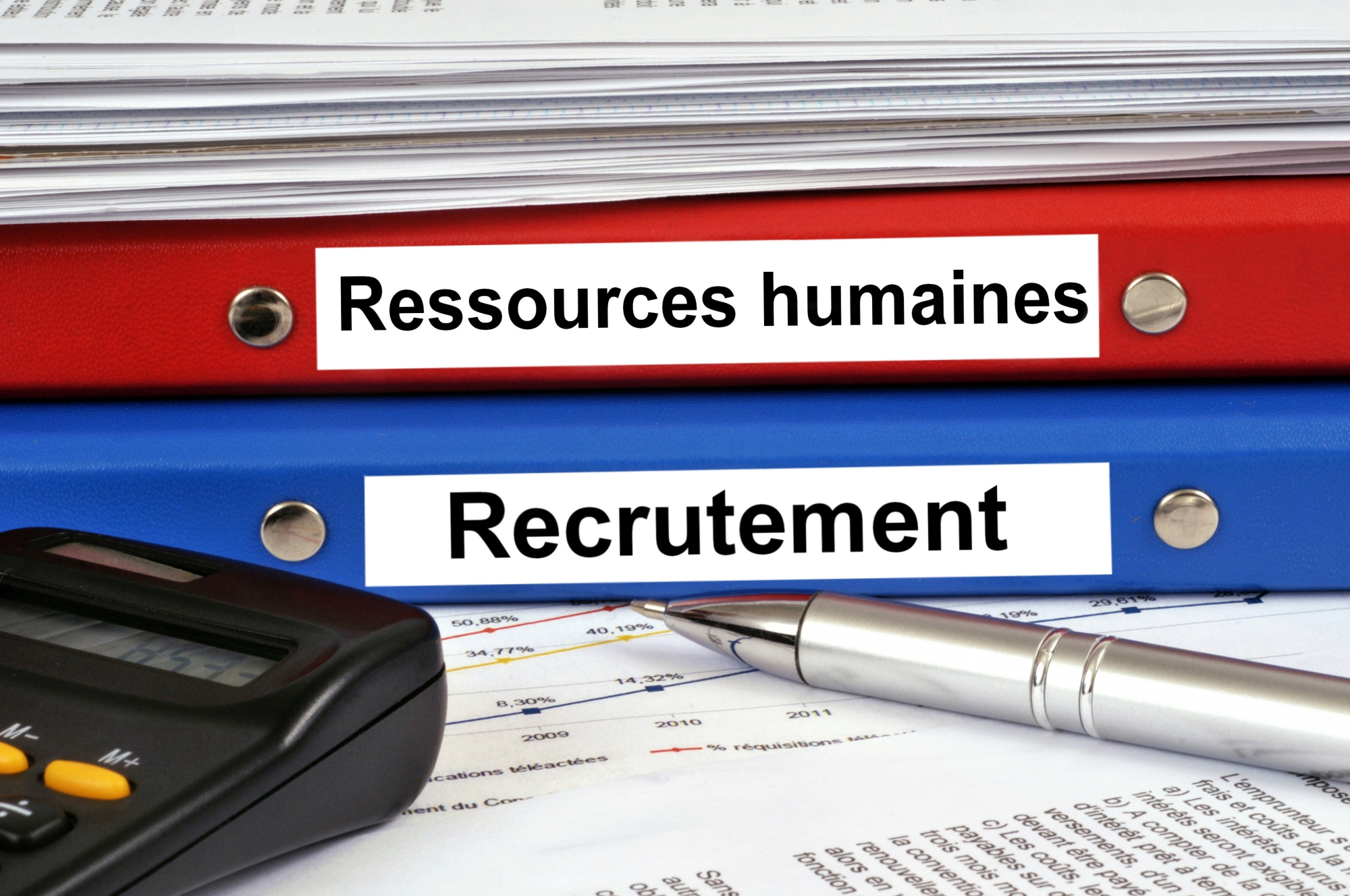 Recrutement - Ressources humaines