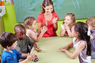 Maternelle, atsem, enseignant