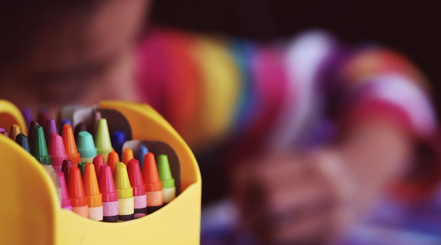 ecole crayons