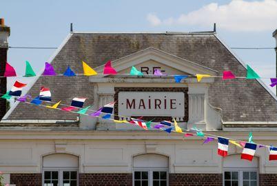 Fête village/mairie